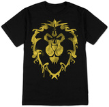 World of Warcraft-Alliance Spray (premium) T-shirts