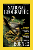 Cover of the October, 2000 Issue of National Geographic Magazine Photographic Print by Tim Laman