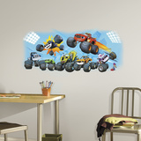 Blaze & Friends Peel and Stick Giant Wall Graphic Wall Decal