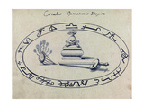 Magic Circle, Cabbalistic Symbols, 18th Century Giclee Print by  Science Source