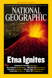 Cover of the February, 2002 Issue of National Geographic Magazine Photographic Print by Carsten Peter