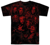 Slipknot- The 9 Thorns Allover Camisetas
