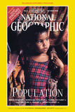 Cover of the October, 1998 Issue of National Geographic Magazine Photographic Print by Karen Kasmauski