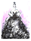 Black & Pink Stampe di Cara Francis