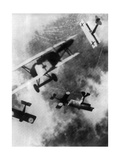 WWI, German and British Dogfight Photographic Print by  Science Source