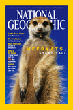 Cover of the September, 2002 Issue of National Geographic Magazine Fotografisk tryk af Mattias Klum