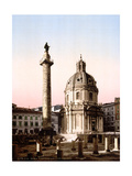 Trajan's Column, 1890s Photographic Print by  Science Source