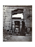 Karnak, Temple of Ramses IV, 19th Century Photographic Print by  Science Source