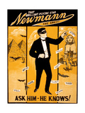 C.A. George Newmann, American Hypnotist Giclee Print by  Science Source