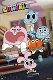 The Amazing World Of Gumball- Couch Surfing Poster