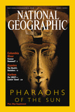 Cover of the April, 2001 Issue of National Geographic Magazine Photographic Print by Kenneth Garrett