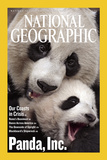Cover of the July, 2006 National Geographic Magazine Fotografisk tryk af Michael Nichols