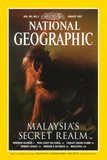 Cover of the August, 1997 Issue of National Geographic Magazine Photographic Print by Mattias Klum