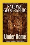 Alternate Cover of the July, 2006 National Geographic Magazine Fotografisk tryk af Stephen Alvarez