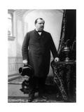 Grover Cleveland, 22nd and 24th U.S. President Photographic Print by  Science Source