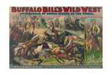 Buffalo Bill's Wild West, American Indians Giclee Print by  Science Source