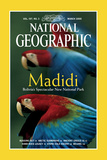 Cover of the March, 2000 National Geographic Magazine Fotografisk tryk af Joel Sartore