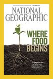 Cover of the September, 2008 National Geographic Magazine Photographic Print by Mark Thiessen