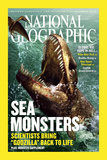 Cover of the December, 2005 Issue of National Geographic Magazine Photographic Print