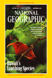 Cover of the September, 1995 National Geographic Magazine Fotografisk tryk af Chris Johns