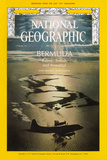 Alternate Cover of the July, 1971 National Geographic Magazine Fotografisk tryk af Emory Kristof