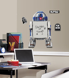 Star Wars Classic R2-D2 Dry Erase Peel and Stick Giant Wall Decals Wall Decal