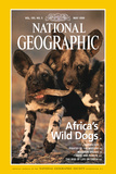 Cover of the May, 1999 National Geographic Magazine Photographic Print by Chris Johns