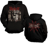Hoodie: Slipknot- The Gray Chapter Skeleton (Front/Back) Hættetrøje