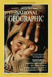 Cover of the November, 1987 National Geographic Magazine Fotografisk tryk af James L. Stanfield