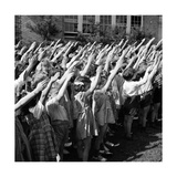 Pledge of Allegiance, 1942 Photographic Print by  Science Source