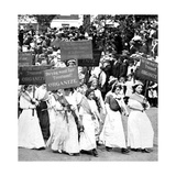 Labor Day Parade, Women's Suffrage, 1912 Photographic Print by  Science Source