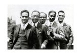 Langston Hughes and Friends, 1924 Photographic Print by  Science Source