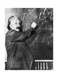 Albert Einstein, German-American Physicist Photographic Print by  Science Source