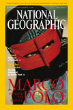 Cover of the May, 2001 Issue of National Geographic Magazine Photographic Print by Michael S. Yamashita