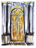 Versailles Doors 1 Art by Cara Francis