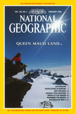 Cover of the February, 1998 National Geographic Magazine Fotografisk tryk af Gordon Wiltsie