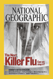 Cover of the October, 2005 National Geographic Magazine Photographic Print by Lynn Johnson