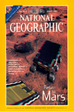 Cover of the August, 1998 National Geographic Magazine Fotografisk tryk af NASA
