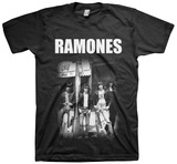 Ramones- Outside the CBGB T-shirts