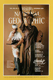 Cover of the November, 1984 National Geographic Magazine Fotografisk tryk af James L. Stanfield