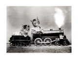 The Fast Express, 1914 Photographic Print by  Science Source