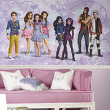 Disney Descendants XL Chair Rail Prepasted Mural Wallpaper Mural
