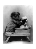 The Bath, 1914 Photographic Print by  Science Source