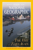 Cover of the May, 1995 National Geographic Magazine Fotografisk tryk af James L. Stanfield