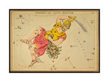 Perseus and Caput Medusae Constellations, 1825 Giclee Print by  Science Source