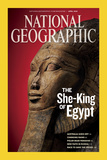 Cover of the April, 2009 Issue of National Geographic Magazine Fotografisk tryk af Kenneth Garrett
