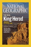 Cover of the December, 2008 Issue of National Geographic Magazine Photographic Print by Michael Melford