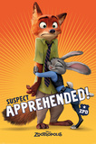 Zootropolis- Suspect Apprehended Posters