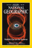 Cover of the April, 1997 National Geographic Magazine Fotografisk tryk af NASA