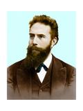 Wilhelm Roentgen, German Physicist Giclee Print by  Science Source